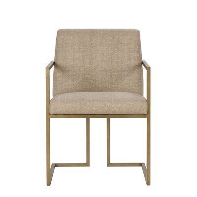 Ashton Upholstered Dining Chair Upholstery Color: Fabric Vadit Mango