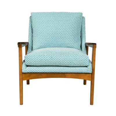 Tarlow Armchair Upholstery: Fabric Neighbor Indigo