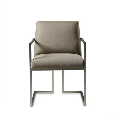 Paxton Upholstered Dining Chair Upholstery Color: Fabric Neighbor Chocolate