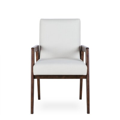 Owen Upholstered Dining Chair Upholstery Color: Fabric Marbella Gunmetal