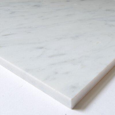 Carrara 12 x 12 Marble Field Tile in White