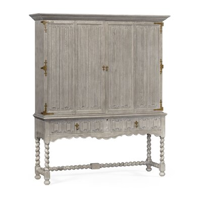 TV-Armoire Color: Gray Oak