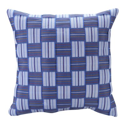 Albany Woven Strap Design Outdoor Throw Pillow
