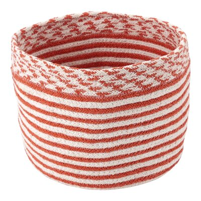 Outdoor Patio Striped Basket