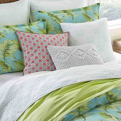 Gibsonia Cotton Reversible Duvet Cover Set Size: Twin