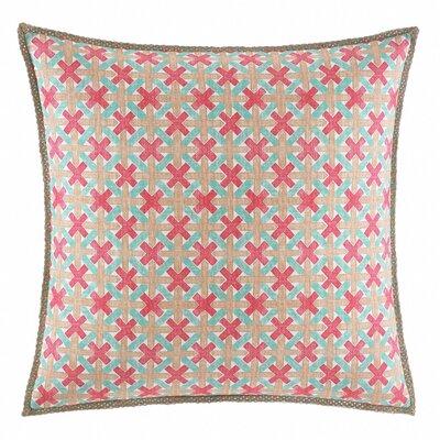 Geo Cotton Throw Pillow