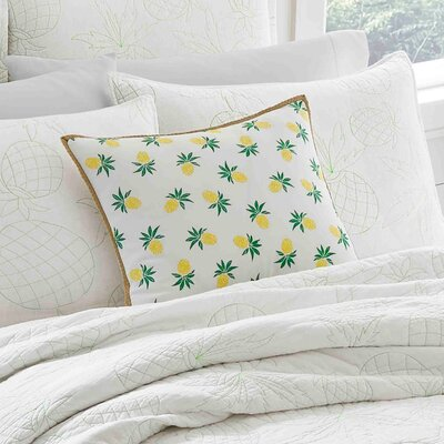 Palm Springs Cotton Reversible Quilt Set Size: Full/Queen
