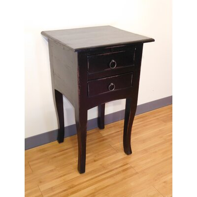 Emily End Table Finish: Antique Black