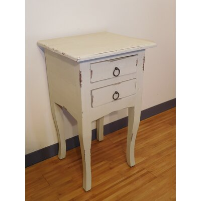 Emily End Table Finish: Cobblestone