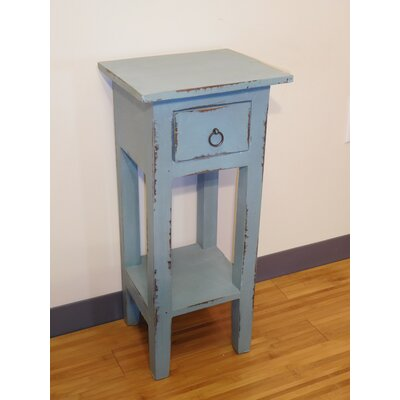Elle End Table Finish: Blue