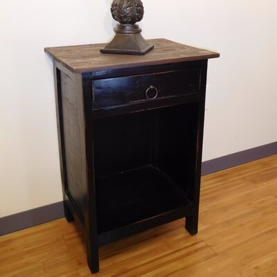 Mabry End Table Finish: Antique Black