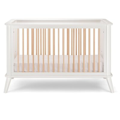Pali Leone Modern Crib in White/Natural - Pali Design 21102WHN (Shipping Included) 21102WHN