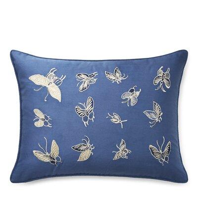 Josephina Embroidery Cotton Lumbar Pillow