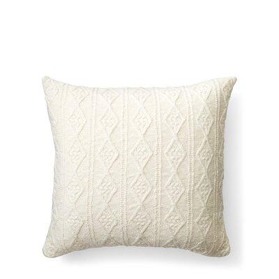 Lakeview Knit Cotton Throw Pillow