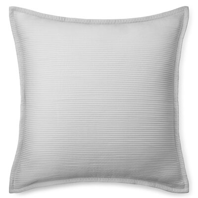 Spencer Matelasse Euro Sham Color: Stone Gray