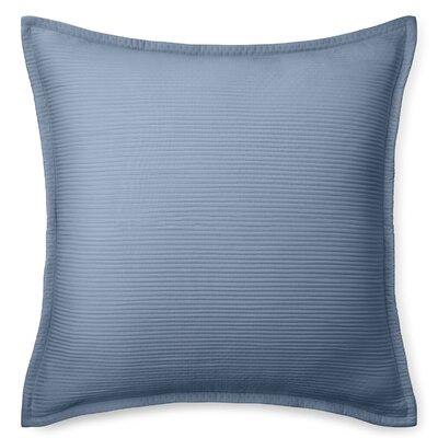 Spencer Matelasse Euro Sham Color: King Fisher Blue