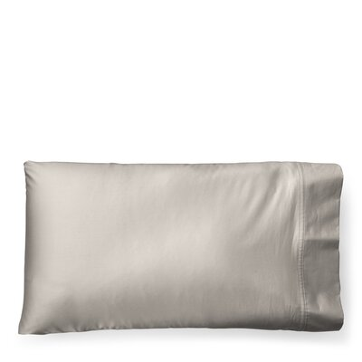 Spencer Solid Pillow Case Size: Standard/Twin, Color: Stone Gray