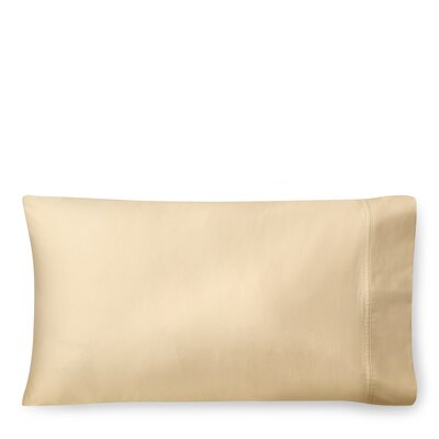 Spencer Solid Pillow Case Size: King, Color: Wheat