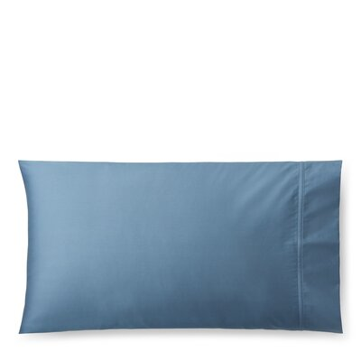 Spencer Solid Pillow Case Size: King, Color: King Fisher Blue