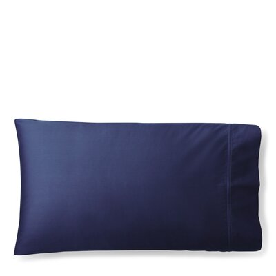 Spencer Solid Pillow Case Size: King, Color: Navy