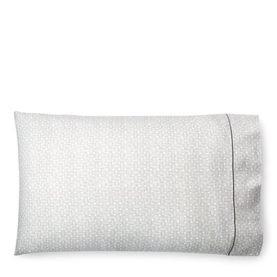 Spencer Basketweave Pillow Case Size: King, Color: Stone Gray