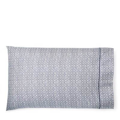 Spencer Basketweave Pillow Case Size: King, Color: Navy