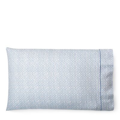 Spencer Basketweave Pillow Case Size: King, Color: KIng Fisher Blue