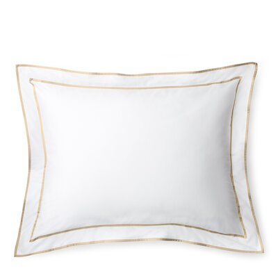Spencer Border Sham Size: Standard/Twin, Color: Wheat