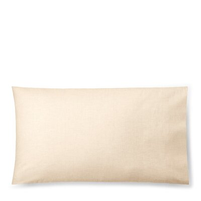 Graydon Melange Pillow Case Size: King, Color: Linen