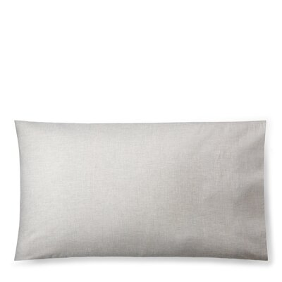 Graydon Melange Pillow Case Size: King, Color: Fog