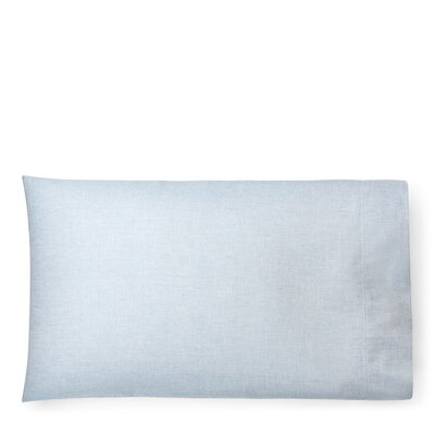 Graydon Melange Pillow Case Size: King, Color: Chambray
