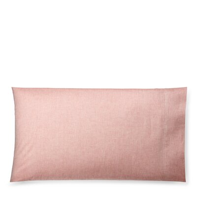 Graydon Melange Pillow Case Size: King, Color: Red