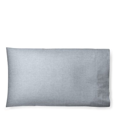 Graydon Melange Pillow Case Size: King, Color: Indigo