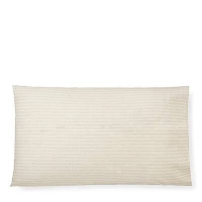 Graydon Shirting Stripe Pillow Case Size: Standard/Twin, Color: Dune/Linen