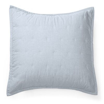 Graydon Quilted Euro Sham Color: Chambray