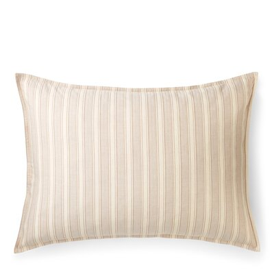 Graydon Cotton Lumbar Pillow Color: Linen