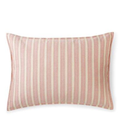 Graydon Cotton Lumbar Pillow Color: Red