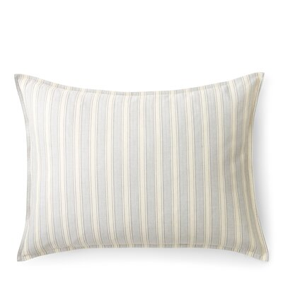 Graydon Cotton Lumbar Pillow Color: Fog