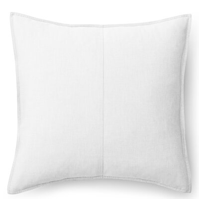 Graydon Cotton Throw Pillow Color: White