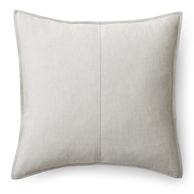 Graydon Cotton Throw Pillow Color: Fog