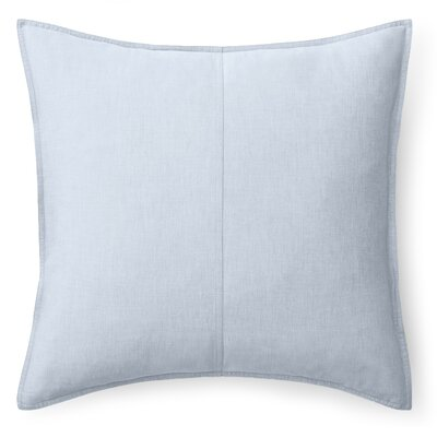 Graydon Cotton Throw Pillow Color: Chambray