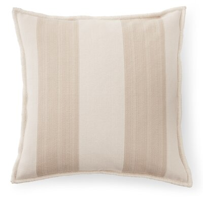 Graydon Cotton Throw Pillow Color: Dune/Linen