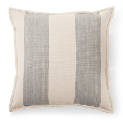 Graydon Cotton Throw Pillow Color: Dune/Fog