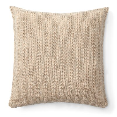 Graydon Cotton Throw Pillow Color: Linen