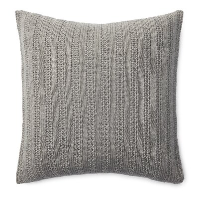 Graydon Cotton Throw Pillow Color: Graphite