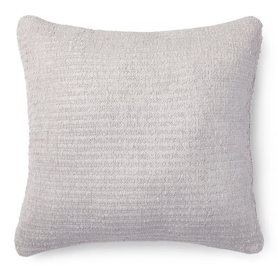 Alene Ribbon Knit Cotton Throw Pillow