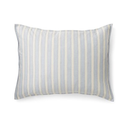 Graydon Cotton Lumbar Pillow Color: Chambray