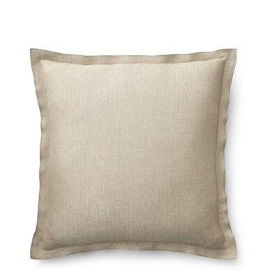 Metallic Herringbone Cotton Throw Pillow