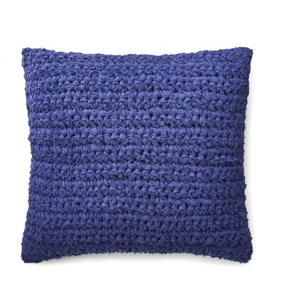 Jensen Rag Knit Cotton Throw Pillow