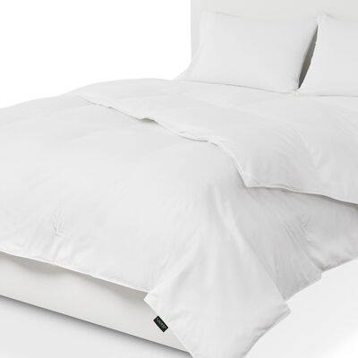 All Season Goose Down Comforter Bed Size: Twin